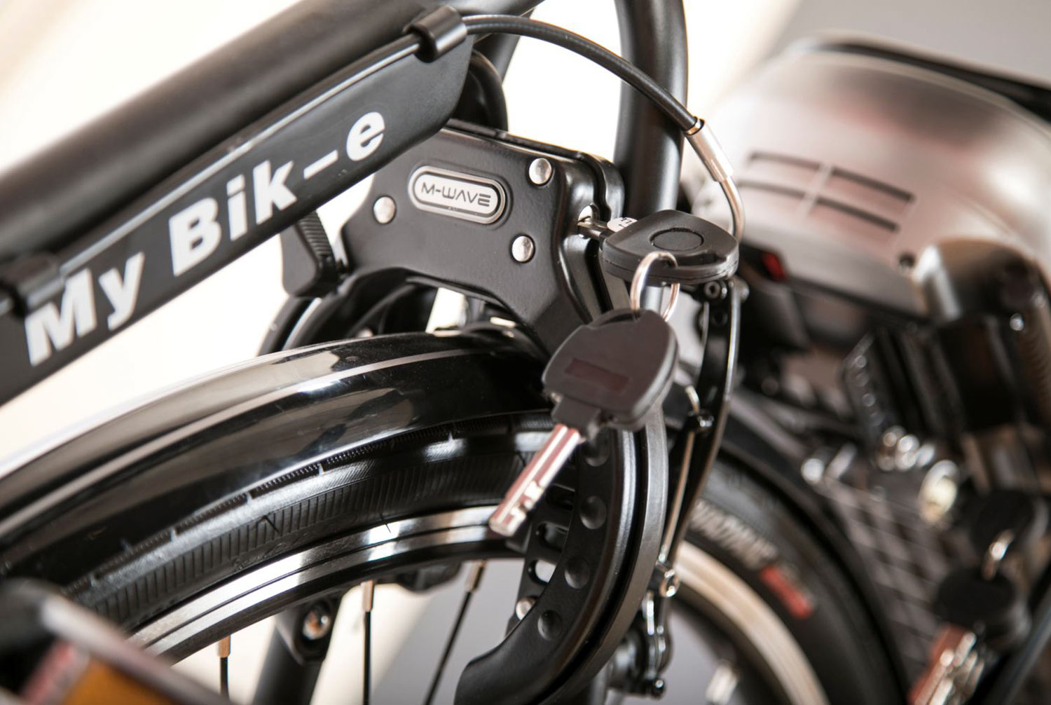 MY BIK-e 7sp. (middle motor) bike image