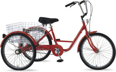 TRICYCLE 24″ 5sp.