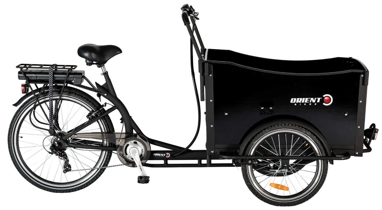 CARGO FRONT BOX 3/WHEELS E-BIKE 6sp. bike image